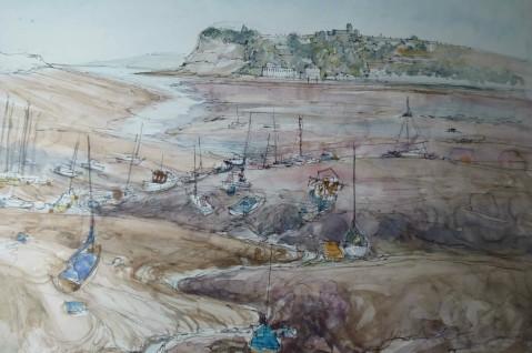 bay low tide
