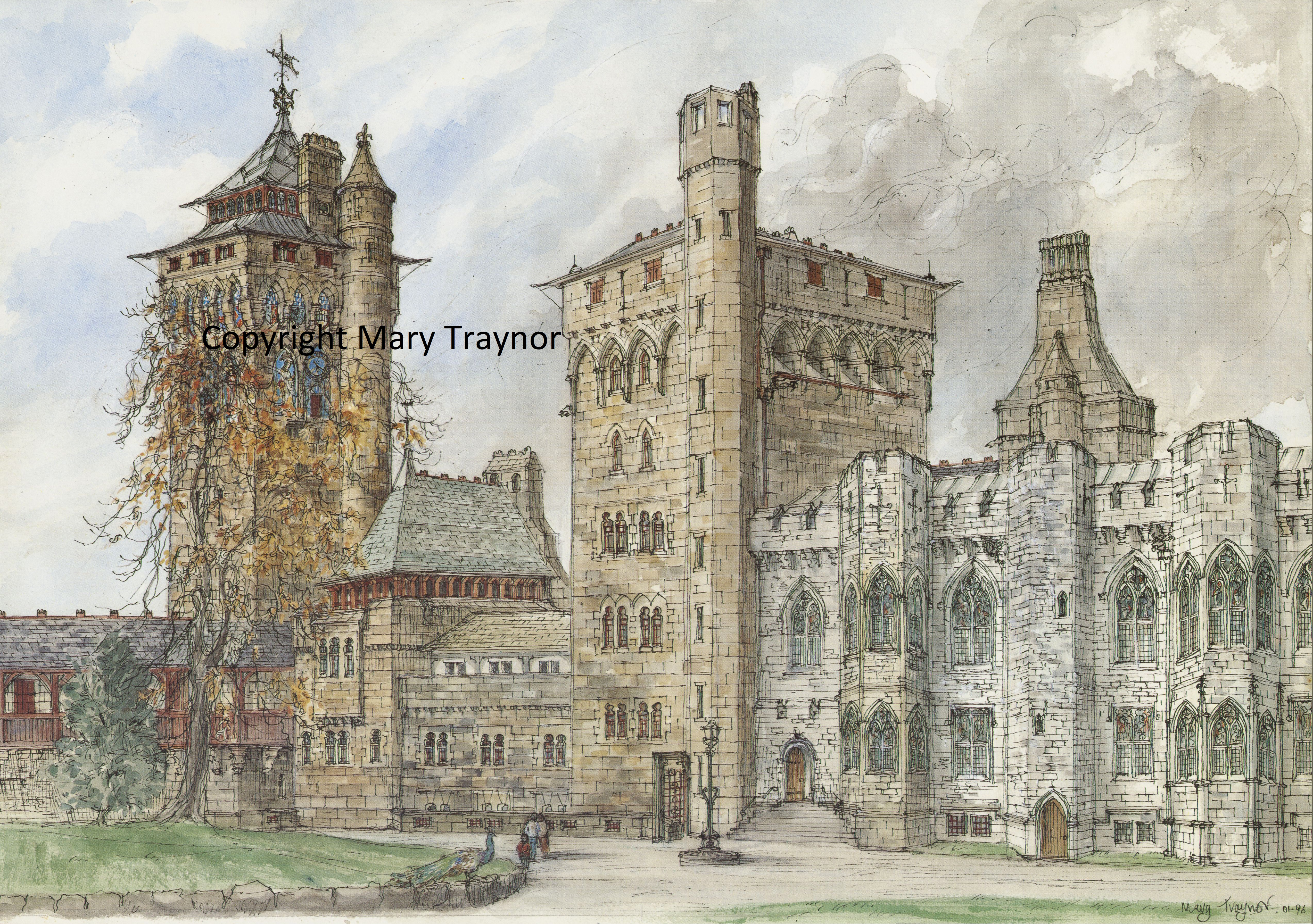 13 Cardiff Castle, the Lodgings (1)
