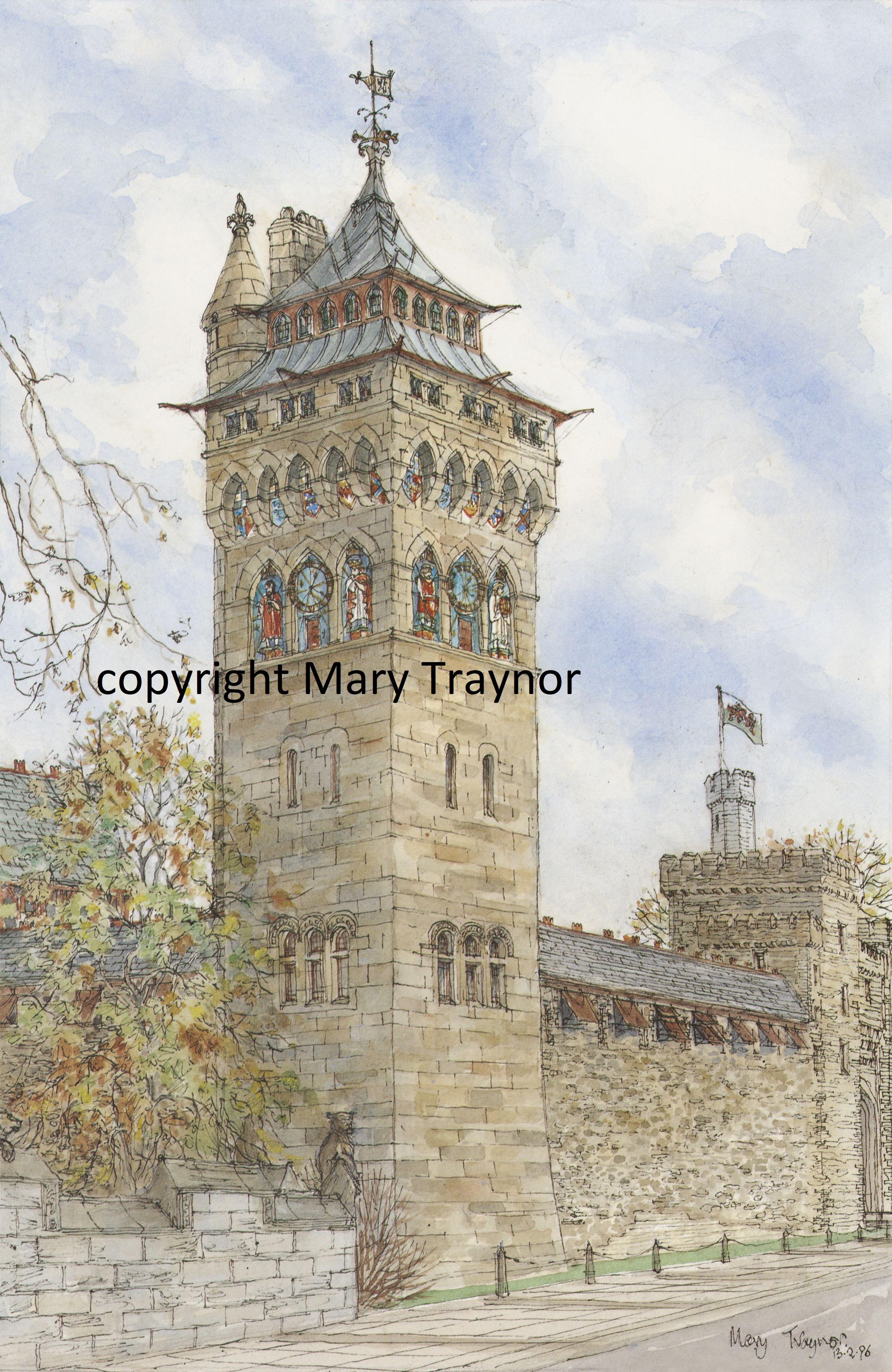 14 Castle Clock Tower from Duke Street